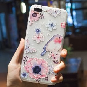 NEW iPhone Max/XR/X/XS/7/8/Plus Floral Case